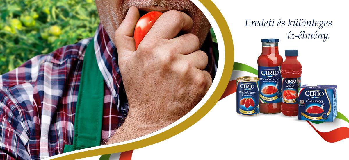 Cirio - Olaszország íze: paradicsomimádóknak