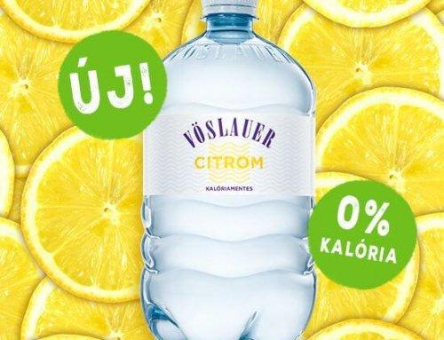 Új, kalóriamentes ízesített vizek a Vöslauertől!